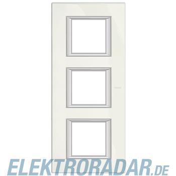 Legrand HA4802/3BG Rahmen rechteckig 3x2 Module Limoges-weiss