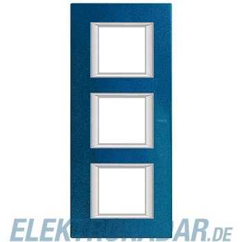 Legrand HA4802/3BM Rahmen rechteckig 3x2 Module Meissenblau