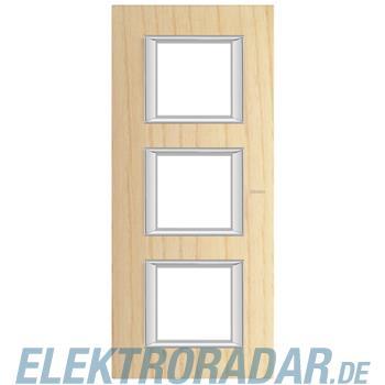Legrand HA4802/3LFR Rahmen rechteckig 3x2 Module Echtholz Esche