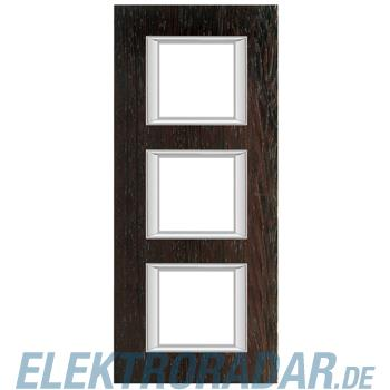 Legrand HA4802/3LWE Rahmen rechteckig 3x2 Module Echtholz Wenge