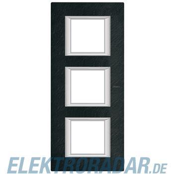 Legrand HA4802/3RLV Rahmen rechteckig 3x2 Module Schiefer