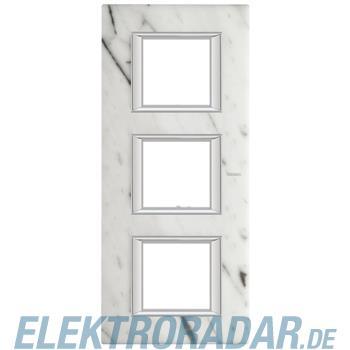 Legrand HA4802/3RMC Rahmen rechteckig 3x2 Module Carrara Marmor