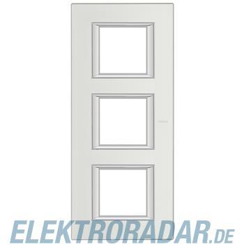 Legrand HA4802/3SA Rahmen rechteckig 3x2 Module Silber, matt