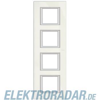 Legrand HA4802/4BG Rahmen rechteckig 4x2 Module Limoges-weiss