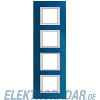 Legrand HA4802/4BM Rahmen rechteckig 4x2 Module Meissenblau