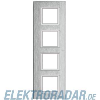 Legrand HA4802/4CR Rahmen rechteckig 4x2 Module Chrom, gebürstet