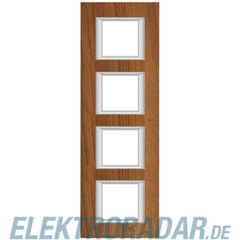 Legrand HA4802/4LTK Rahmen rechteckig 4x2 Module Echtholz Teak
