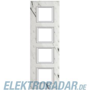 Legrand HA4802/4RMC Rahmen rechteckig 4x2 Module Carrara Marmor