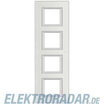 Legrand HA4802/4SA Rahmen rechteckig 4x2 Module Silber, matt