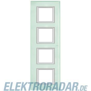 Legrand HA4802/4VKA Rahmen rechteckig 4x2 Module Glas Kristallglas