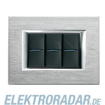 Legrand HA4803CR Rahmen rechteckig 3 Module Kompaktinstallation Chr