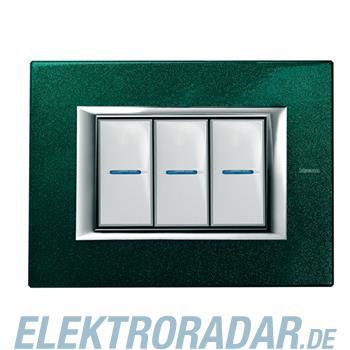 Legrand HA4803VS Rahmen rechteckig 3 Module Kompaktinstallation Sev