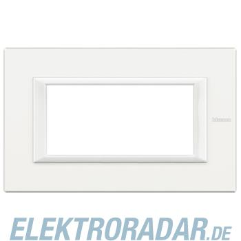 Legrand HA4804HD Rahmen rechteckig 4 Module Kompaktinstallation Whi