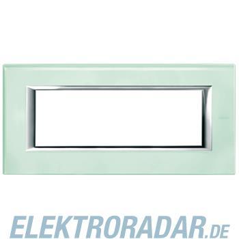 Legrand HA4806VKA Rahmen rechteckig 6 Module Kompaktinstallation Gla