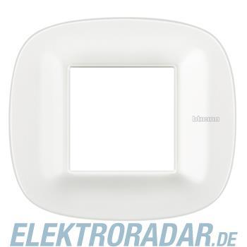 Legrand HB4802CGW Rahmen elliptisch 2 Module White Corian