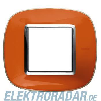 Legrand HB4802DR Rahmen elliptisch 2 Module Orange