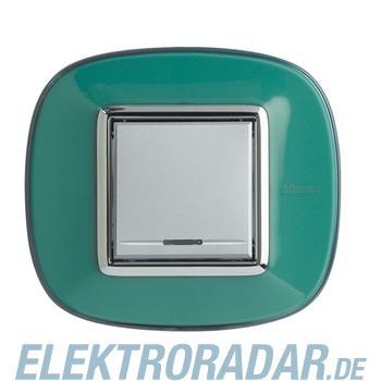 Legrand HB4802DV Rahmen elliptisch 2 Module Grün