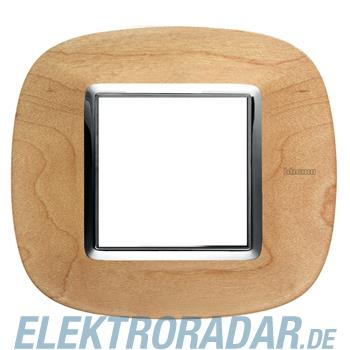 Legrand HB4802LAE Rahmen elliptisch 2 Module Ahorn