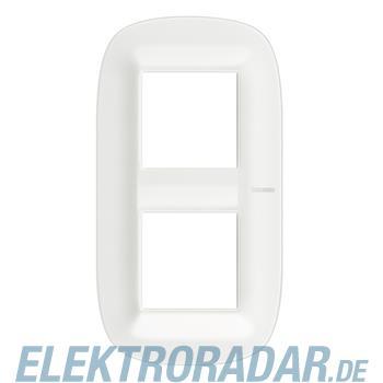 Legrand HB4802M2CGW Rahmen elliptisch 2x2 Mdule White Corian