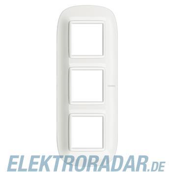 Legrand HB4802M3HD Rahmen elliptisch 3x2 Module White Aluminium