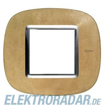 Legrand HB4802SLC Rahmen elliptisch 2 Module Sand