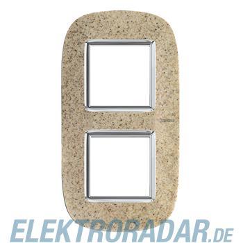 Legrand HB4802/2CSD Rahmen elliptisch 2x2 Module Sandstone
