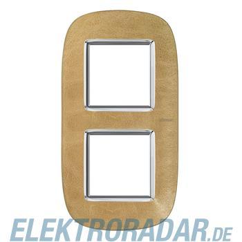 Legrand HB4802/2SLC Rahmen elliptisch 2x2 Module Sand
