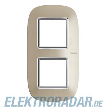 Legrand HB4802/2TC Rahmen elliptisch 2x2 Module Titan
