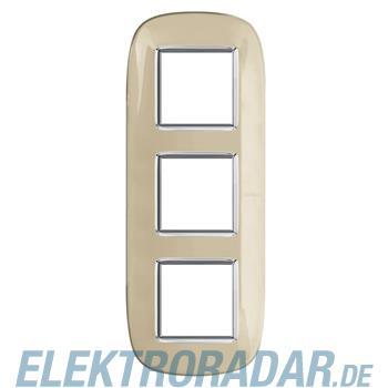 Legrand HB4802/3DA Rahmen elliptisch 3x2 Module Ivory