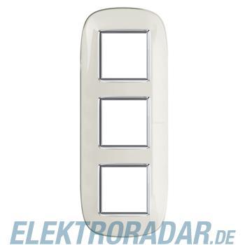 Legrand HB4802/3DB Rahmen elliptisch 3x2 Module Weiss