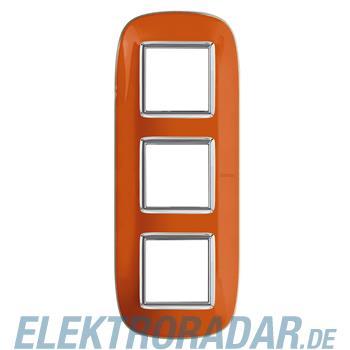 Legrand HB4802/3DR Rahmen elliptisch 3x2 Module Orange