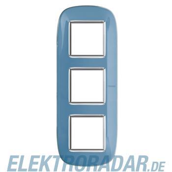 Legrand HB4802/3DZ Rahmen elliptisch 3x2 Module Blau