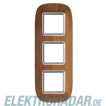 Legrand HB4802/3LCA Rahmen elliptisch 3x2 Module Kirsche