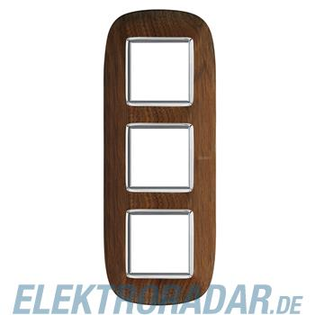 Legrand HB4802/3LNC Rahmen elliptisch 3x2 Module Walnuss