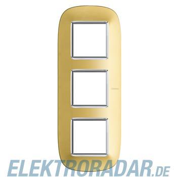 Legrand HB4802/3OS Rahmen elliptisch 3x2 Module Gold, matt