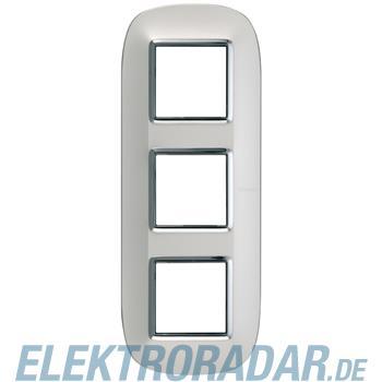 Legrand HB4802/3SA Rahmen elliptisch 3x2 Module Silber, matt