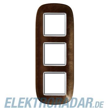 Legrand HB4802/3SLS Rahmen elliptisch 3x2 Module Kaffee