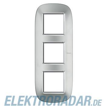 Legrand HB4802/3XC Rahmen elliptisch 3x2 Module Aluminium