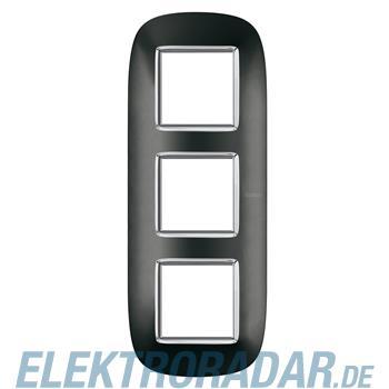 Legrand HB4802/3XS Rahmen elliptisch 3x2 Module Anthrazit
