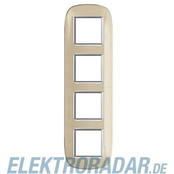 Legrand HB4802/4DA Rahmen elliptisch 4x2 Module Ivory