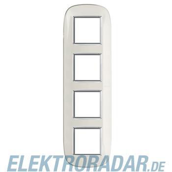 Legrand HB4802/4DB Rahmen elliptisch 4x2 Module Weiss