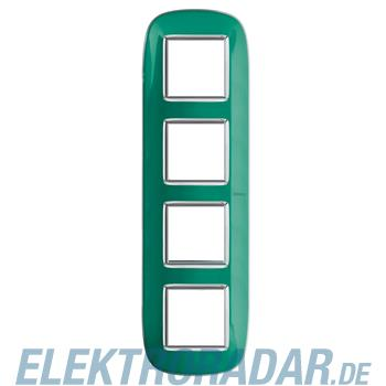 Legrand HB4802/4DV Rahmen elliptisch 4x2 Module Grün