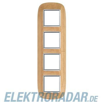Legrand HB4802/4LAE Rahmen elliptisch 4x2 Module Ahorn