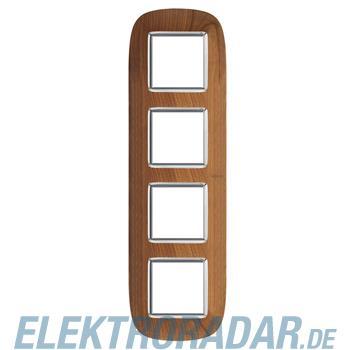 Legrand HB4802/4LCA Rahmen elliptisch 4x2 Module Kirsche