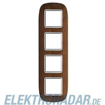 Legrand HB4802/4LNC Rahmen elliptisch 4x2 Module Walnuss