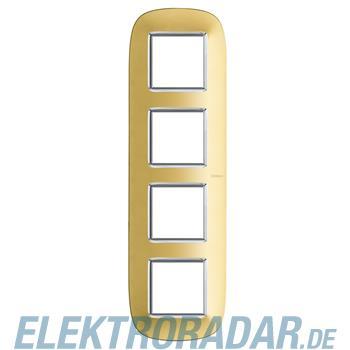 Legrand HB4802/4OS Rahmen elliptisch 4x2 Module Gold, matt