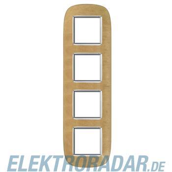 Legrand HB4802/4SLC Rahmen elliptisch 4x2 Module Sand