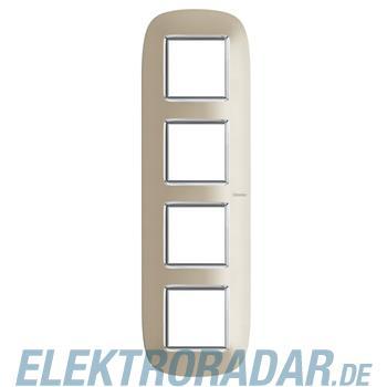 Legrand HB4802/4TC Rahmen elliptisch 4x2 Module Titan