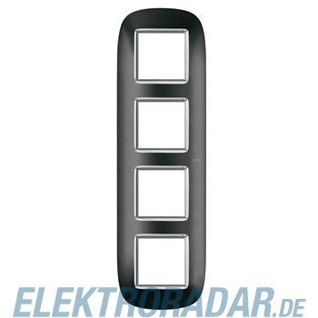 Legrand HB4802/4XS Rahmen elliptisch 4x2 Module Anthrazit