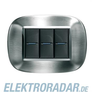 Legrand HB4803AXS Rahmen elliptisch 3 Module Kompaktinstallation Sta